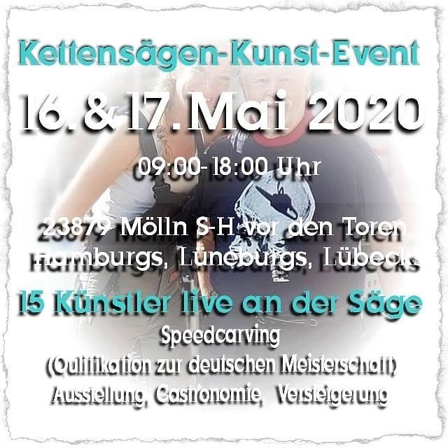 Kettensägen-Kunst-Event